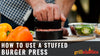 How To Use A Stuffed Burger Press