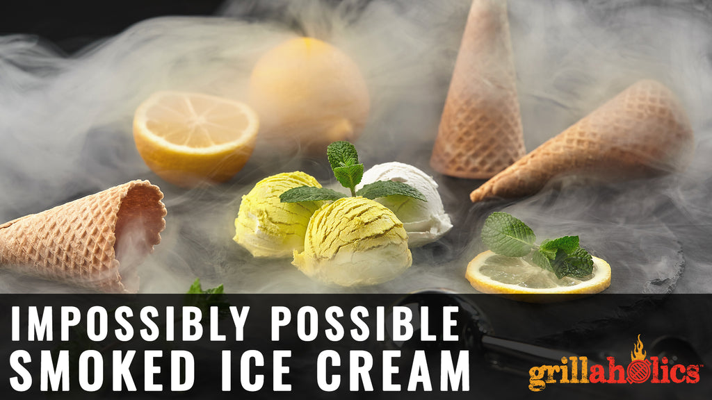 Impossibly Possible Smoked Ice Cream Technique