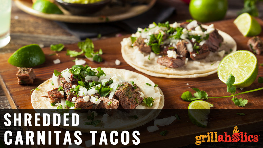 Shredded Carnitas Tacos