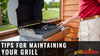 Tips For Maintaining Your Grill