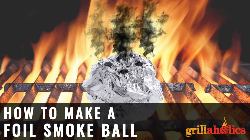 DIY Foil Smoke Ball