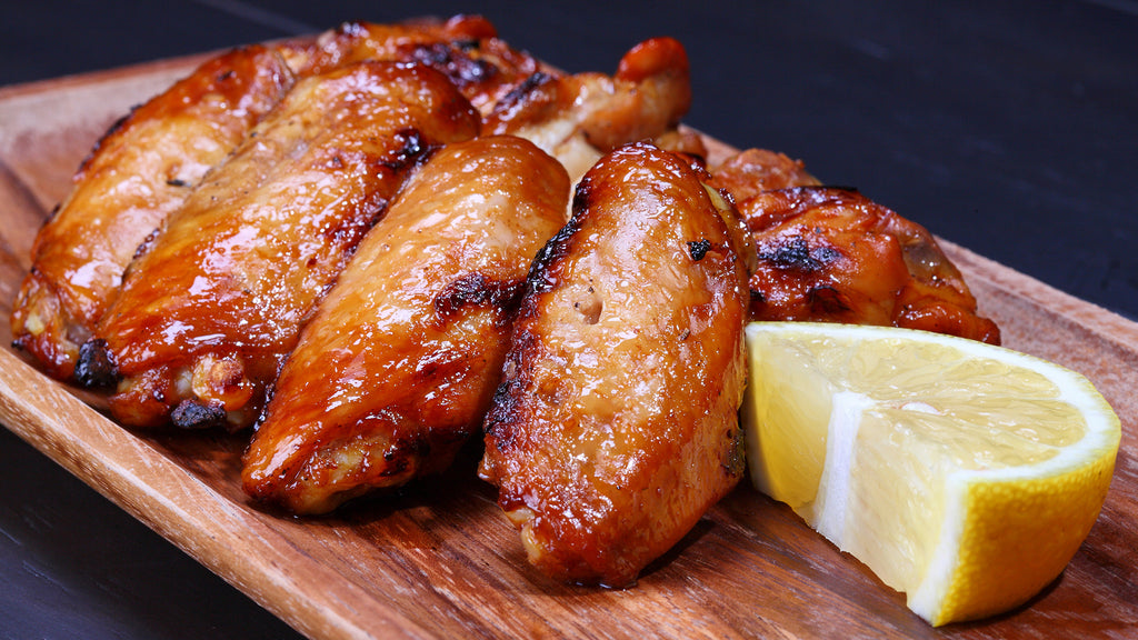Chicken Wings Sauced