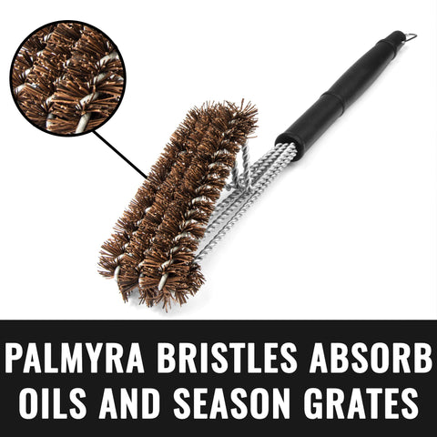 Image of Grillaholics Essentials Palmyra Grill Brush