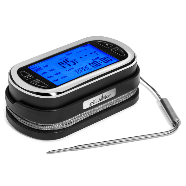 Grillaholics Wireless Digital Meat Thermometer