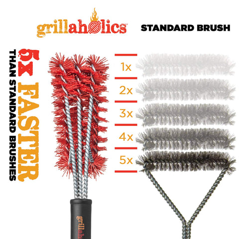 Grillaholics Essentials Nylon Grill Brush