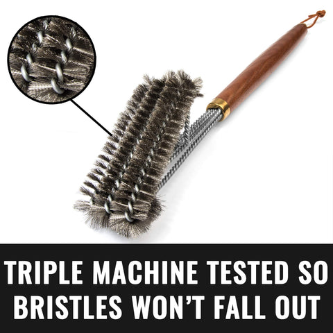 Image of Grillaholics Pro Steel Grill Brush