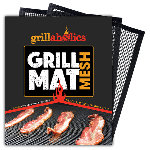 Image of Grillaholics Mesh Grill Mat - Set of 2