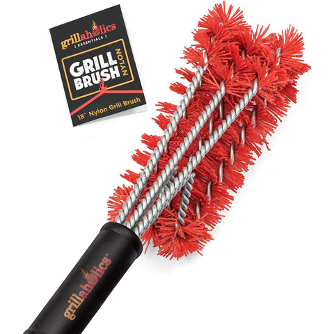 Image of Grillaholics Essentials Nylon Grill Brush