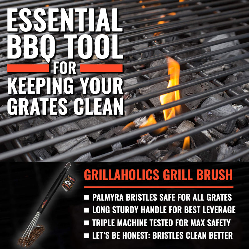 Grillaholics Essentials Palmyra Grill Brush