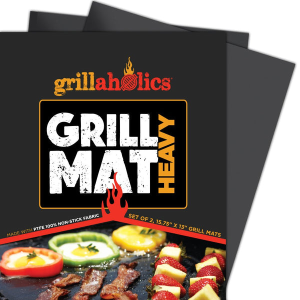 Grillaholics Grill Mat Heavy - Set of 2