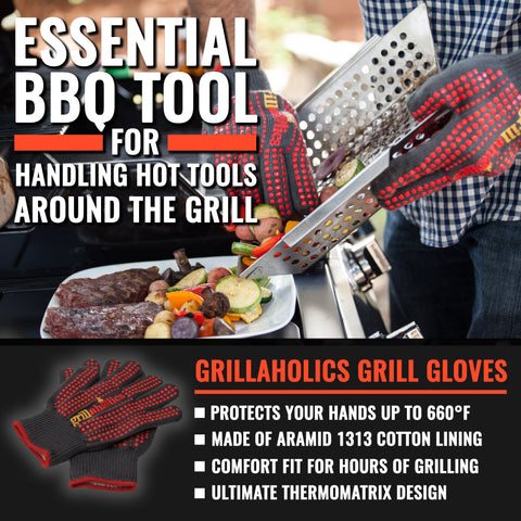 Image of Grillaholics Grill Gloves