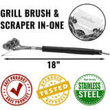 Grillaholics Bristle Free Grill Brush