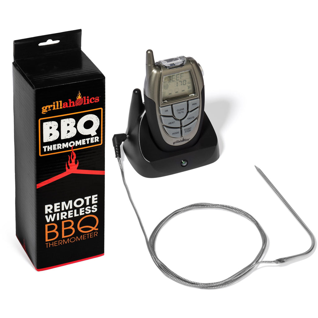 Grillaholics BBQ Thermometer - 100 ft Range