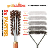 Grillaholics Pro Palmyra Grill Brush