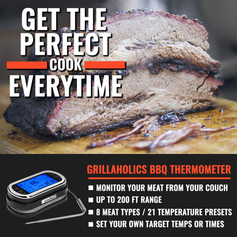 Image of Grillaholics Wireless Digital Meat Thermometer