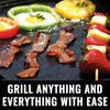 Grillaholics Grill Mat - Heavy Duty BBQ Grill Mats - Non Stick, Reusable, and Easy to Clean - Set of 2