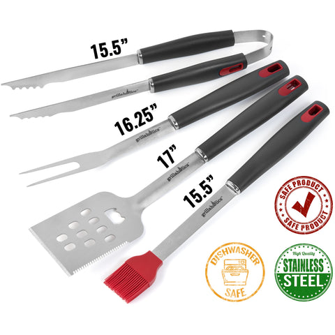 Image of Grillaholics Essentials Grill Tools