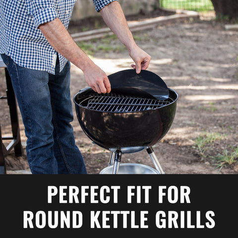 Image of Grillaholics Round Grill Mat - Set of 2