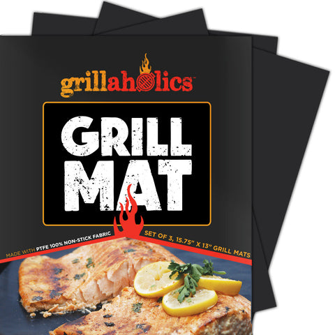 Image of Grillaholics Grill Mat - Set of 3