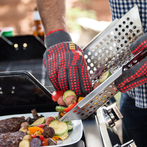 Image of Grillaholics Grill Basket