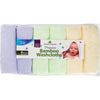 Best Bamboo Baby Washcloths Soft & Hypoallergenic Sensitive Skin Baby Wipes by Bamboo Organics