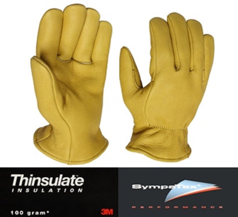 Superior Elkskin Leather Glove Lined with Thinsulate™  & Sympatex® - Cowboy Hats and More