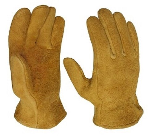 Elkskin Suede Leather Gloves - Cowboy Hats and More