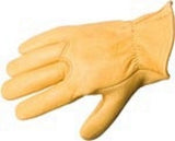 Deerskin Leather Glove with Seamless Palm - Unlined - Cowboy Hats and More  - 1