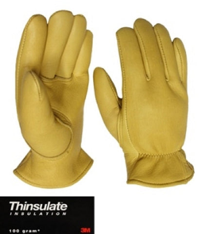 Favorite Elkskin Leather Glove with Thinsulate™  Lining - Cowboy Hats and More