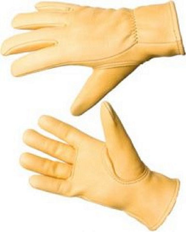 Keystone Deerskin Leather Gloves -- Foam Lined - Cowboy Hats and More