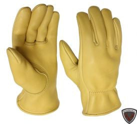 Keystone Deerskin Leather Gloves - Cowboy Hats and More