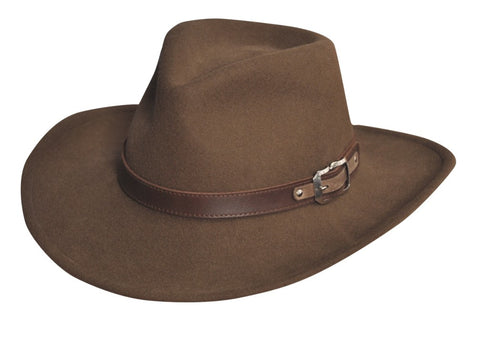 Black Creek Crushable Wool Classic Men's Hat - Cowboy Hats and More