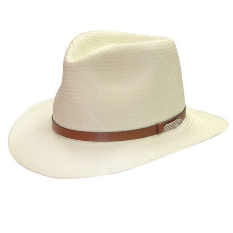 Black Creek Urban Sophisticate Straw Fedora