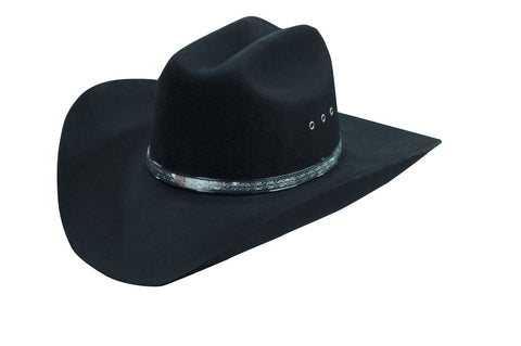 Bullseye Wool Felt Cowboy Hat - Cowboy Hats and More