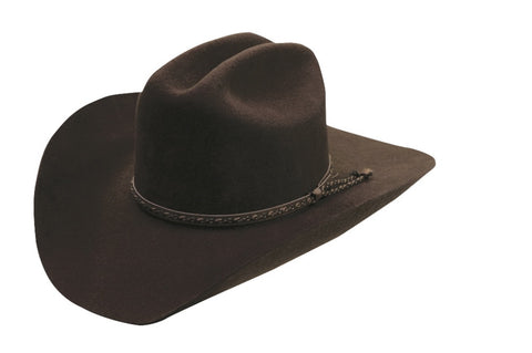Hazer Wool Felt Wool Cowboy Hat - Cowboy Hats and More