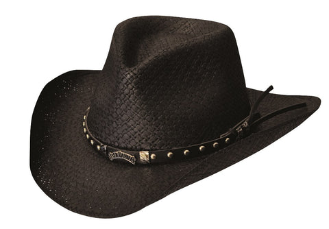 Country Nights Straw Cowboy Hat
