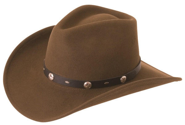 The Rattler - Crushable Wool Cowboy Hat by Silverado – Cowboy Hats and More 3e2e98241ece