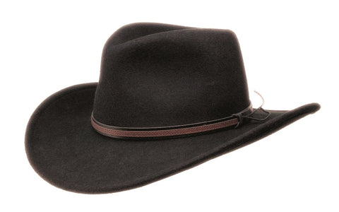 Black Creek Crushable Wool Winchester Texan - Cowboy Hats and More