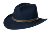 Black Creek Around Town Crushable Wool Fedora - Cowboy Hats and More  - 3