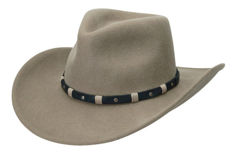 Black Creek Crushable Wool Austin Western Fedora - Cowboy Hats and More