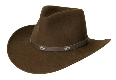 Black Creek Aussie Crushable Wool Outback Hat