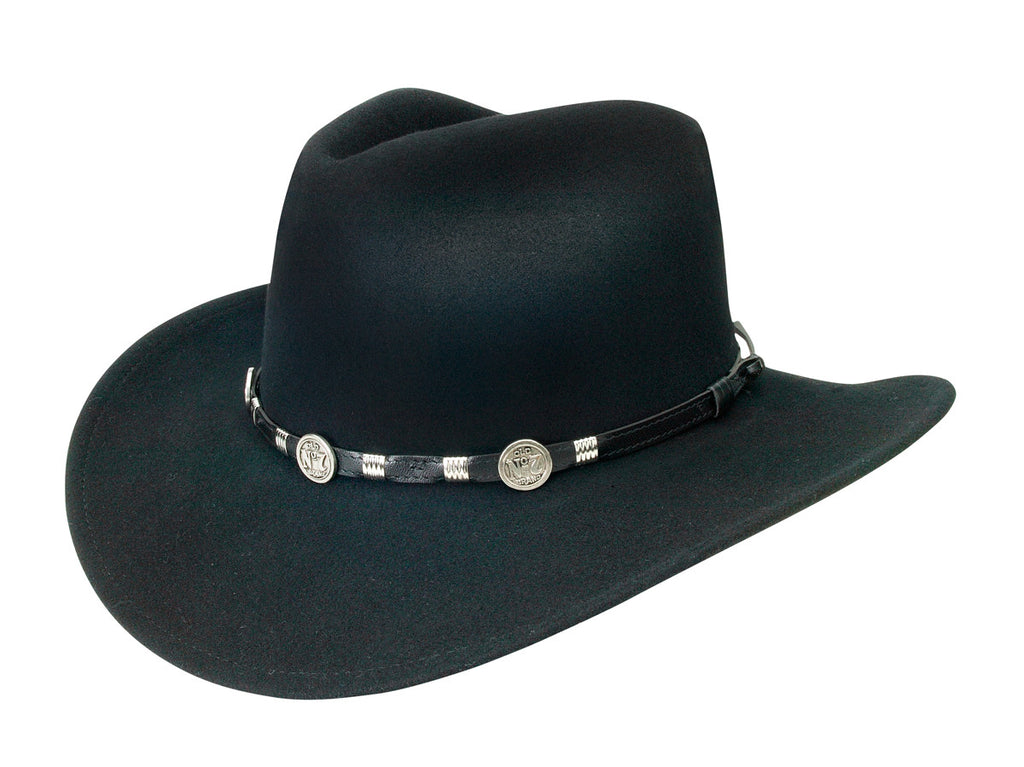 Bad to the Bone Fedora – Cowboy Hats and More 9a3ab0222d3