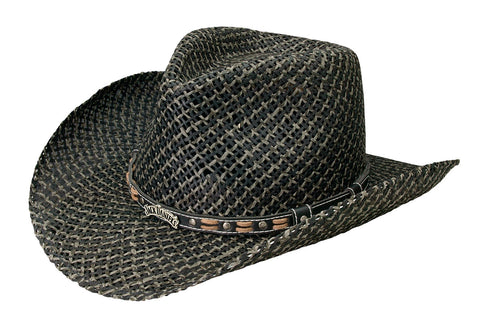 Jack Daniels Twisted Toyo Straw Hat