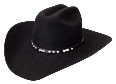 Midnight Wool Felt Cowboy Hat - Cowboy Hats and More
