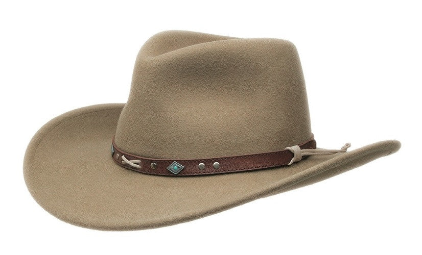 Black Creek Crushable Wool Texas Legacy Cowboy Hat