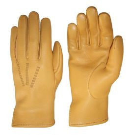 James Churchill Leather Western Gentleman's Deerskin Leather Gloves