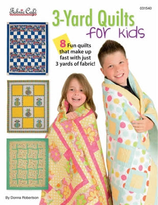 3 Yard Quilt For Kids Pattern Book - brewstitched.com