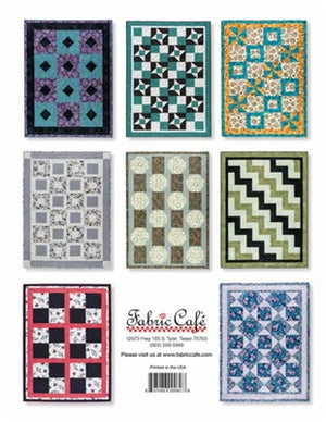 Easy Does It 3-Yard Quilts Pattern Book - brewstitched.com