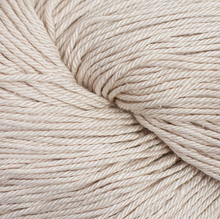 Cascade Noble Cotton Yarn in White Sand - brewstitched.com