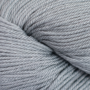 Cascade Noble Cotton Yarn in Silver - brewstitched.com